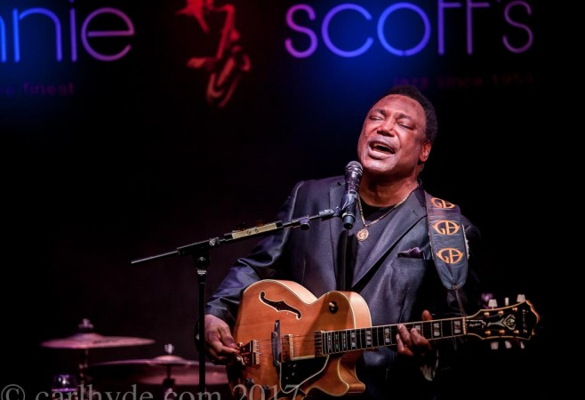 Moving and groovin' ~ a great performance by super-hero George Benson
