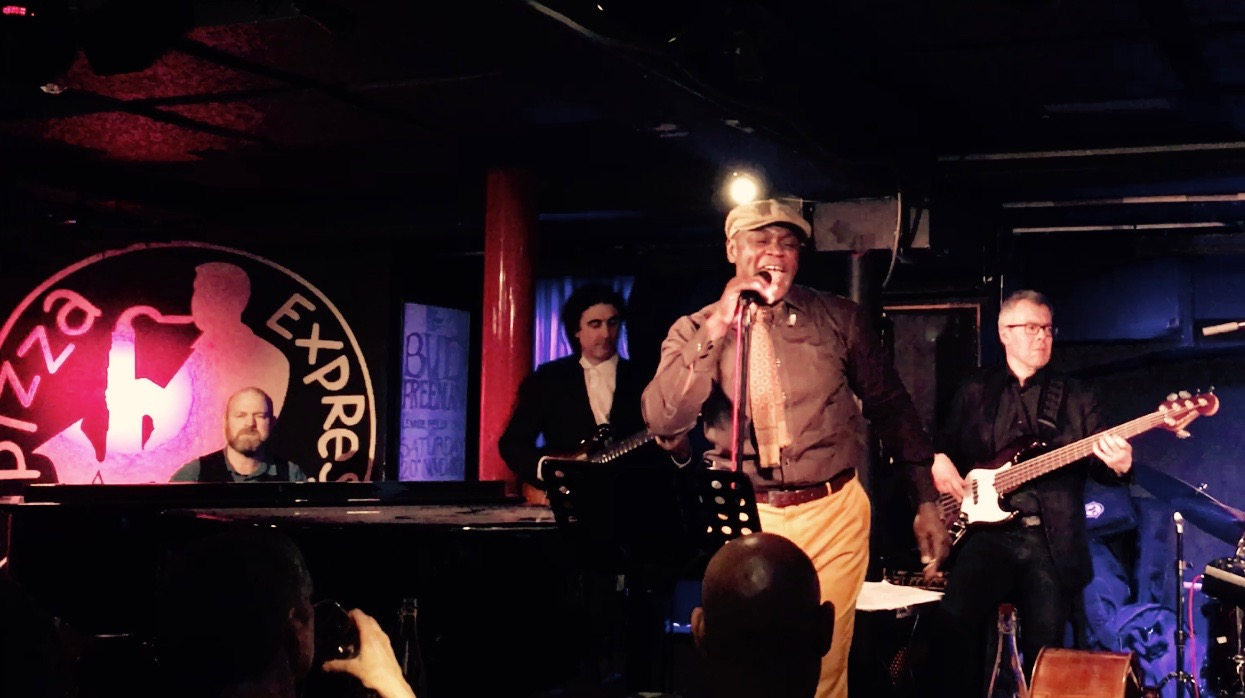 Ola Onabule performs at Pizza Express in London's West - Photo: Fiona Ross
