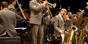 Wynton Marsalis & Jazz at the Lincoln Center Orchestra on tour in Europe.