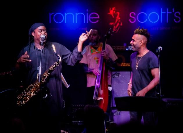 Gig Review |Courtney Pine & Omar live @ Ronnie Scott's