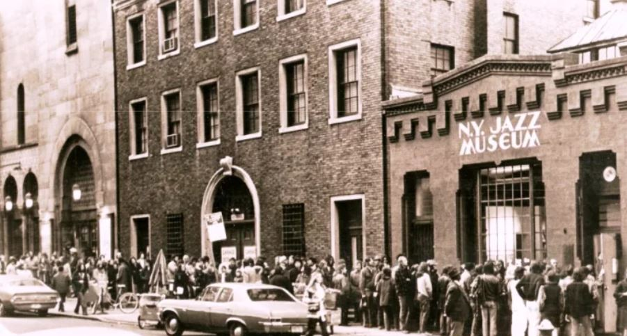 New York Jazz Museum in the mid 1970's