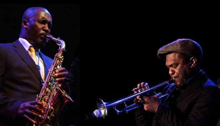 Tony Kofi and Byron Wallen