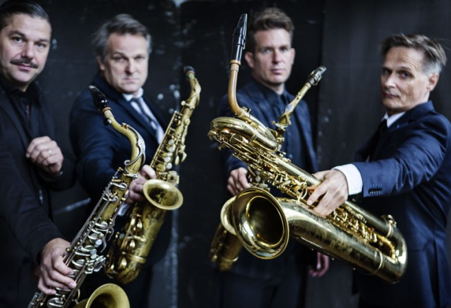 An interview with the Artvark Saxophone Quartet.