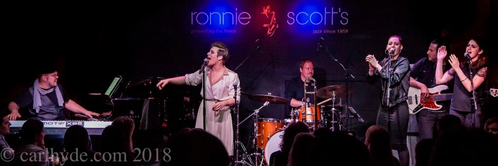 Aubrey Logan @ Ronnie Scott's - Photo © Carl Hyde