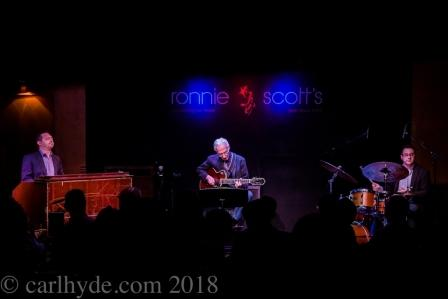 Pat Martino Trio at Ronnie Scotts - Photo © Carl Hyde