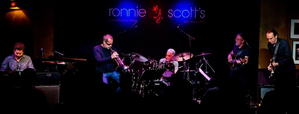 Steve Gadd Band @ Ronnie Scotts March 2018 - Photo©️ Carl Hyde