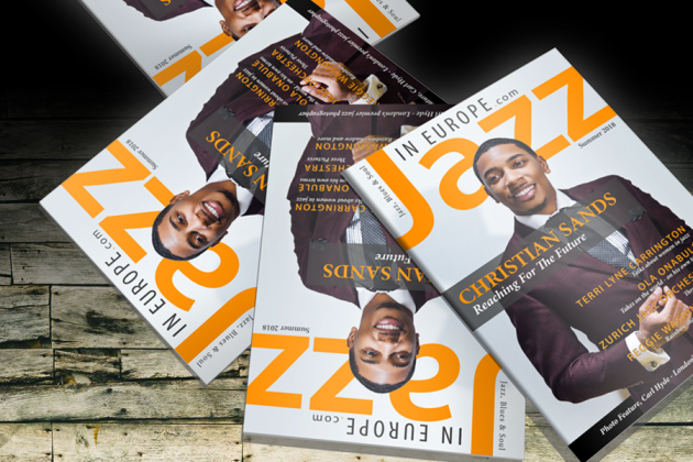 Introducing the Jazz In Europe Print Magazine.
