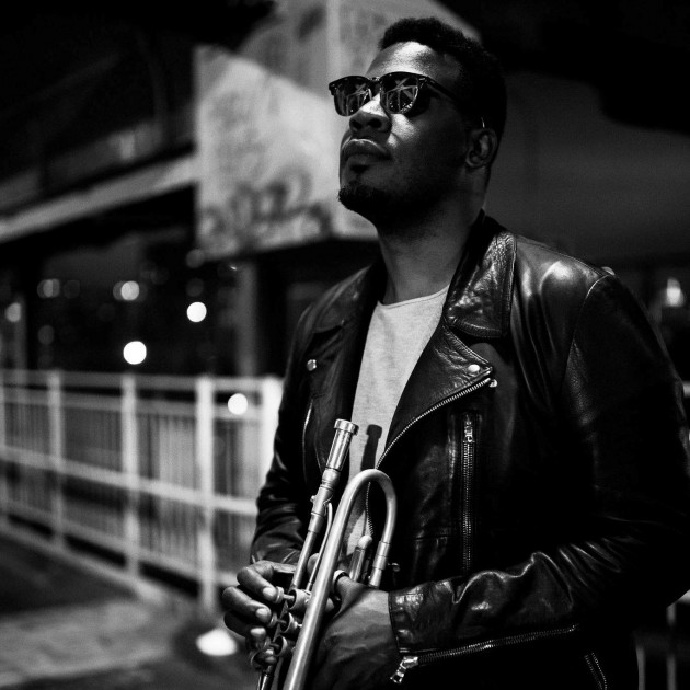 Keyon Harrold, Trumpeter for the celebrated Miles Davis biopic, visits U.K.